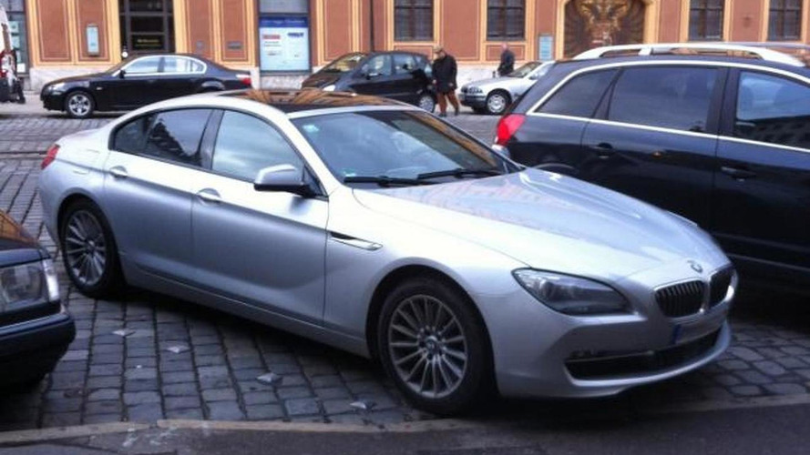 BMW 6-Series Gran Coupe on the street looking real