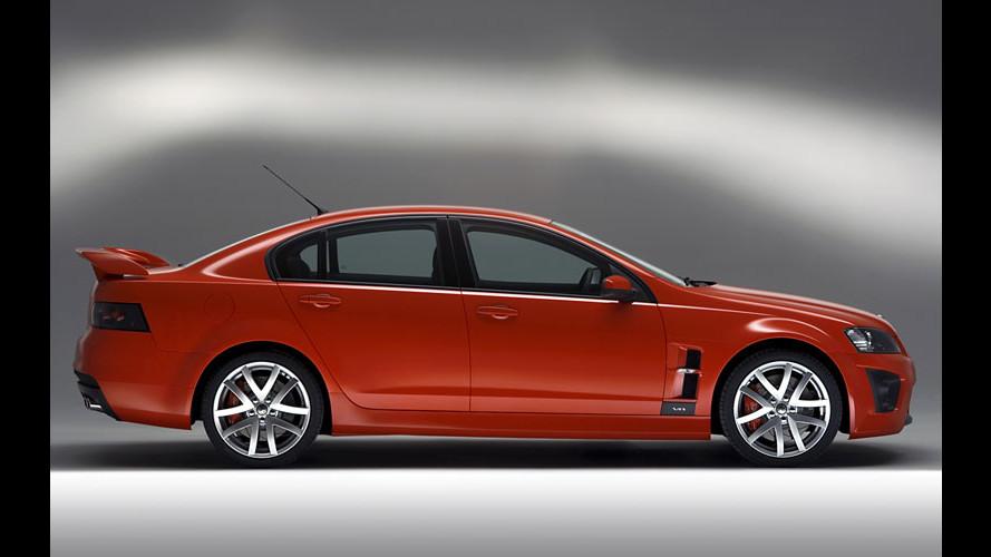 Vauxhall VXR8: 420 cv australiani in UK!