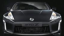 2013 Nissan 370Z facelift teaser image enhanced