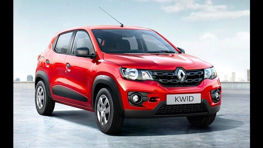 Aguardado para 2016, Renault Kwid tem fila de espera de até 6 meses na Índia