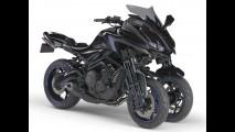 Tóquio: conheça a incrível Yamaha MT-09 de três rodas (vídeo)
