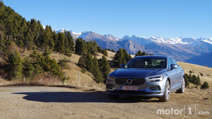 Essai Volvo S90 D4 - L'autre berline premium