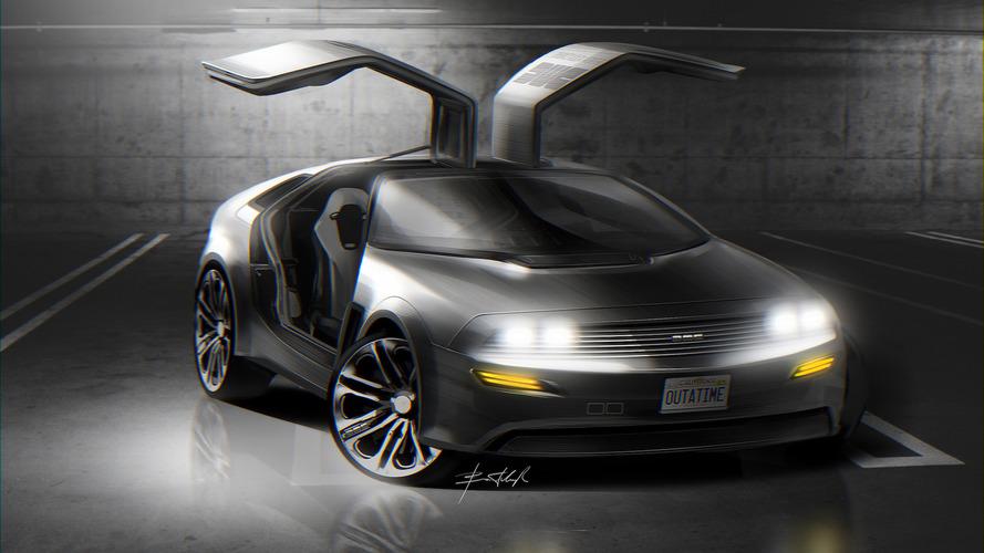 La DeLorean du futur imaginée par un designer ukrainien