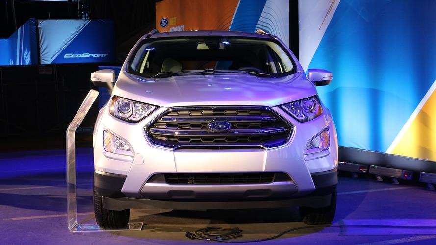 Ford EcoSport 2018 no Salão de Los Angeles