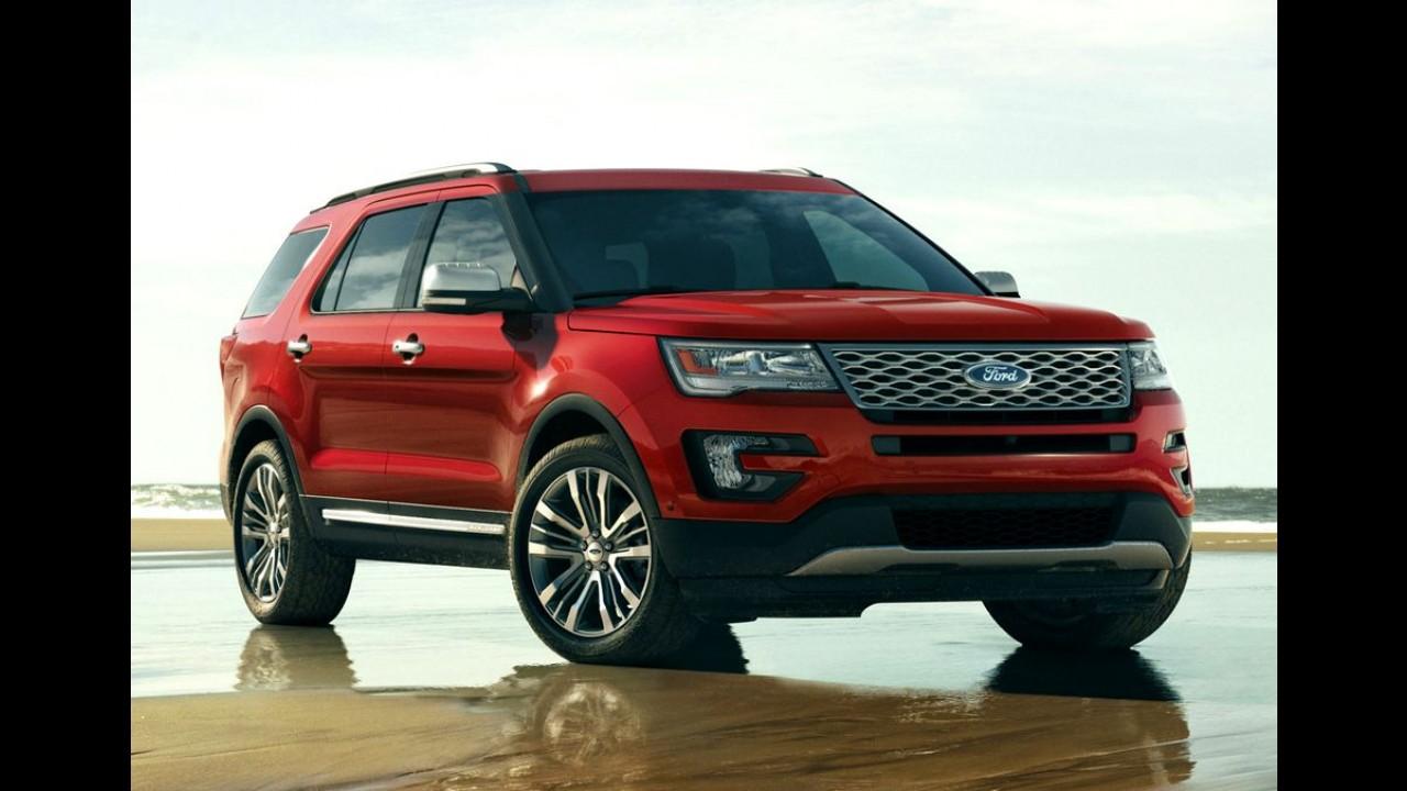 Ford confirma lançamento de quatro novos SUVs até 2020