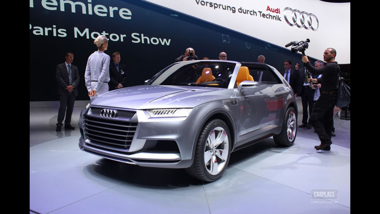 "Audi divulga teaser ""misterioso"" para o futuro crossover Q2"