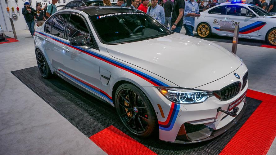 BMW M Performance parçaları otomobilinizi son noktaya ulaştırıyor