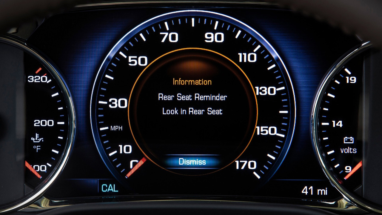 GM Rear Seat Reminder