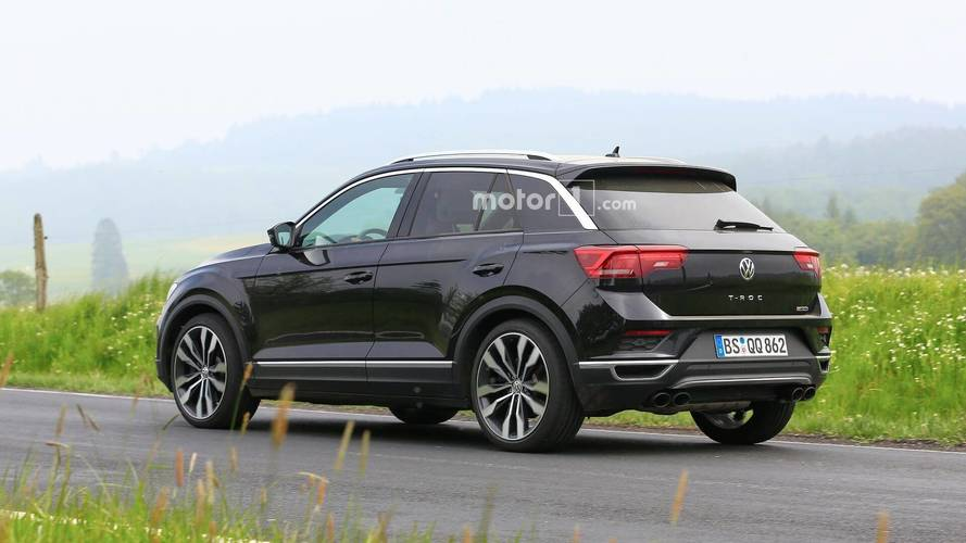 VW T-Roc R Spied Undisguised, But With The Regular Model's Body