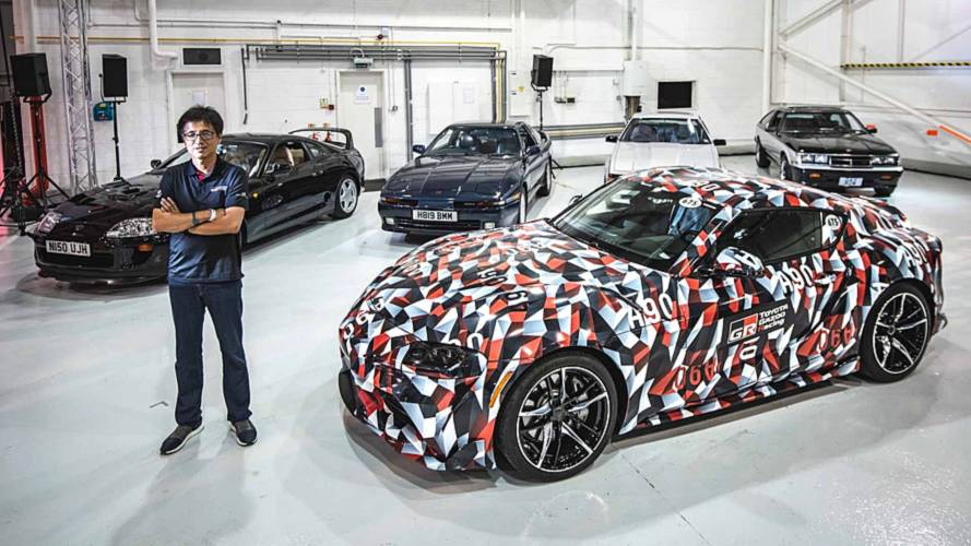 Toyota confirms it's working on a four-cylinder Supra