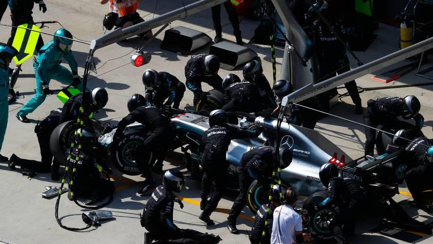 Mercedes batió su propio récord de pitstop en China