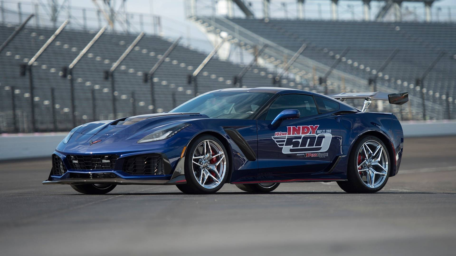 2019 Corvette ZR1 Is Indy\'s Most Powerful Pace Car Ever