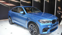 2015 BMW X6 M at Los Angeles Auto Show