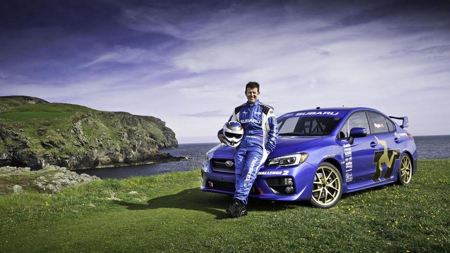 2015 Subaru WRX STI sets a new lap record at the Isle of Man
