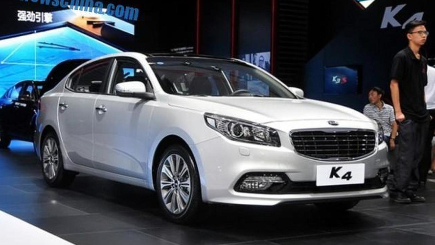 Production Kia K4 debuts at Chengdu Motor Show