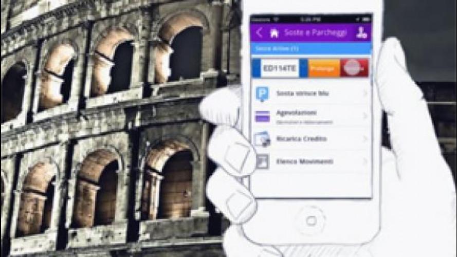Strisce blu: a Roma c'è già il modo per evitare multe