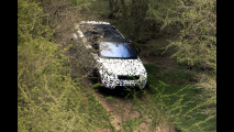 Range Rover Evoque Convertibile, i prototipi in off-road
