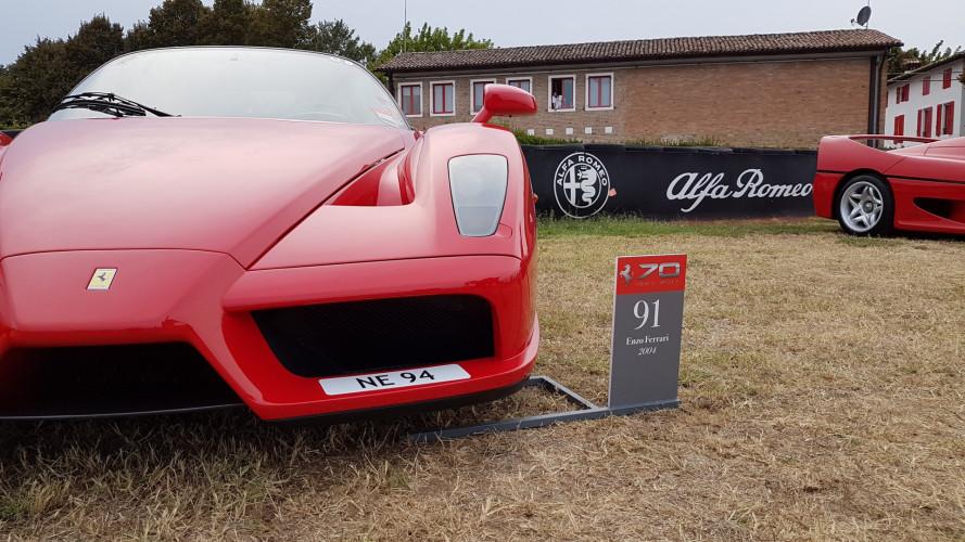 70 anni Ferrari, l'emozione di essere alla festa di compleanno