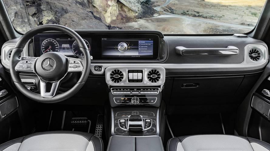 2019 Mercedes G-Serisi'nin iç mekanına ilk bakış