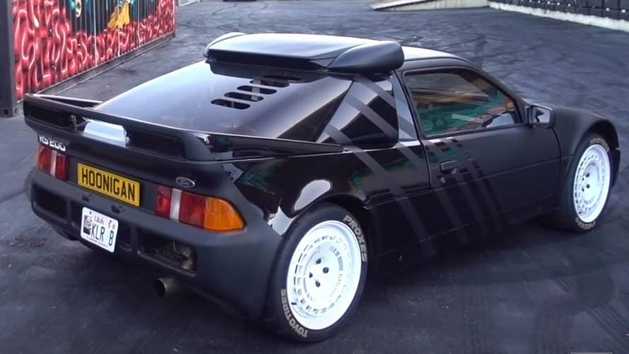 Ken Block Just Got A Ford RS200