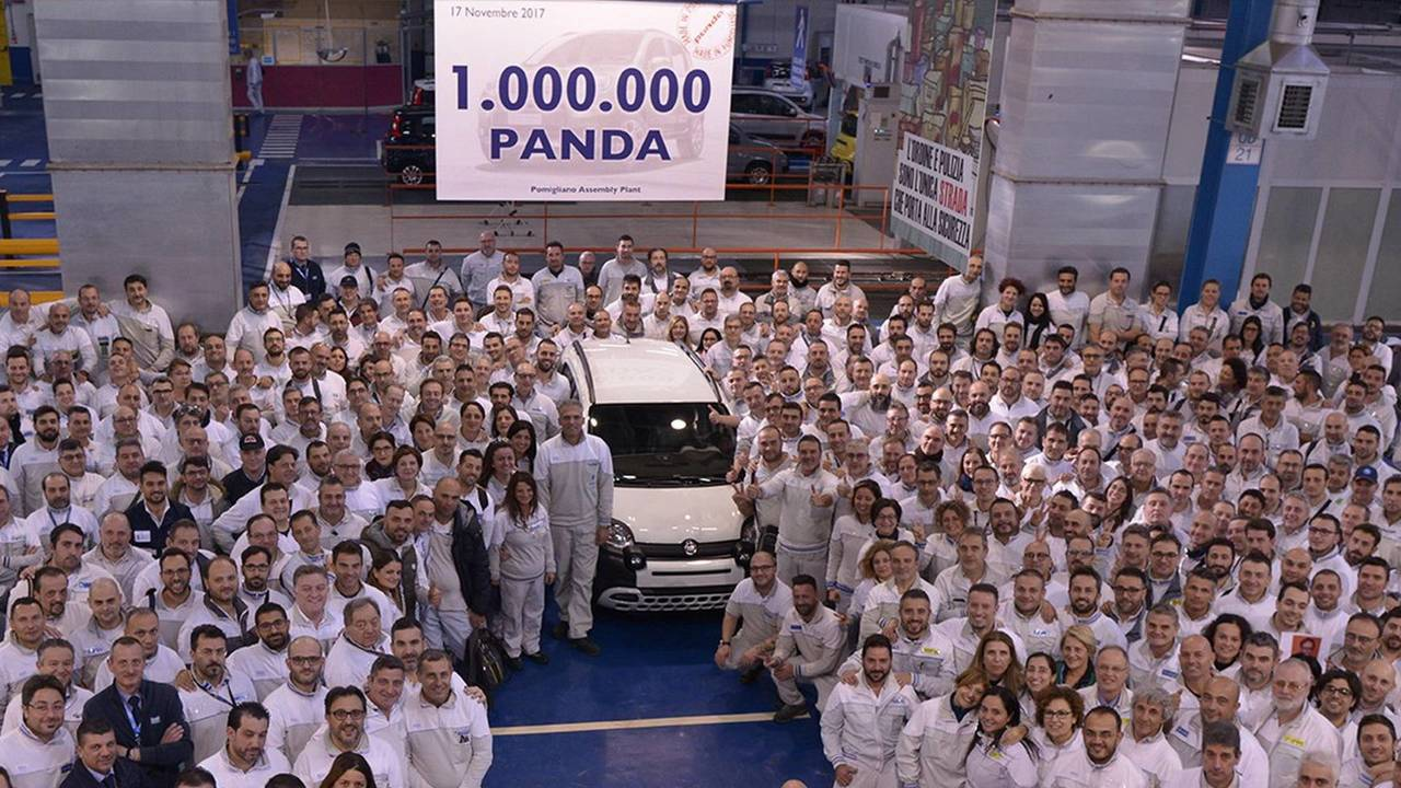 One-millionth Fiat Panda