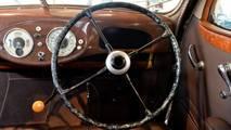 1940 Skoda Superb 4000 direksiyon simidi