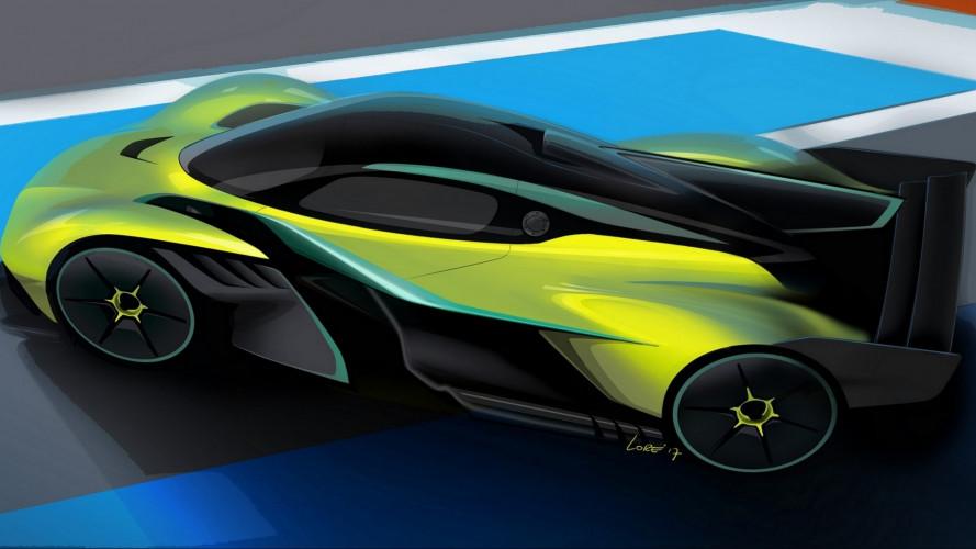 Aston Martin Valkyrie AMR Pro, come una Formula 1
