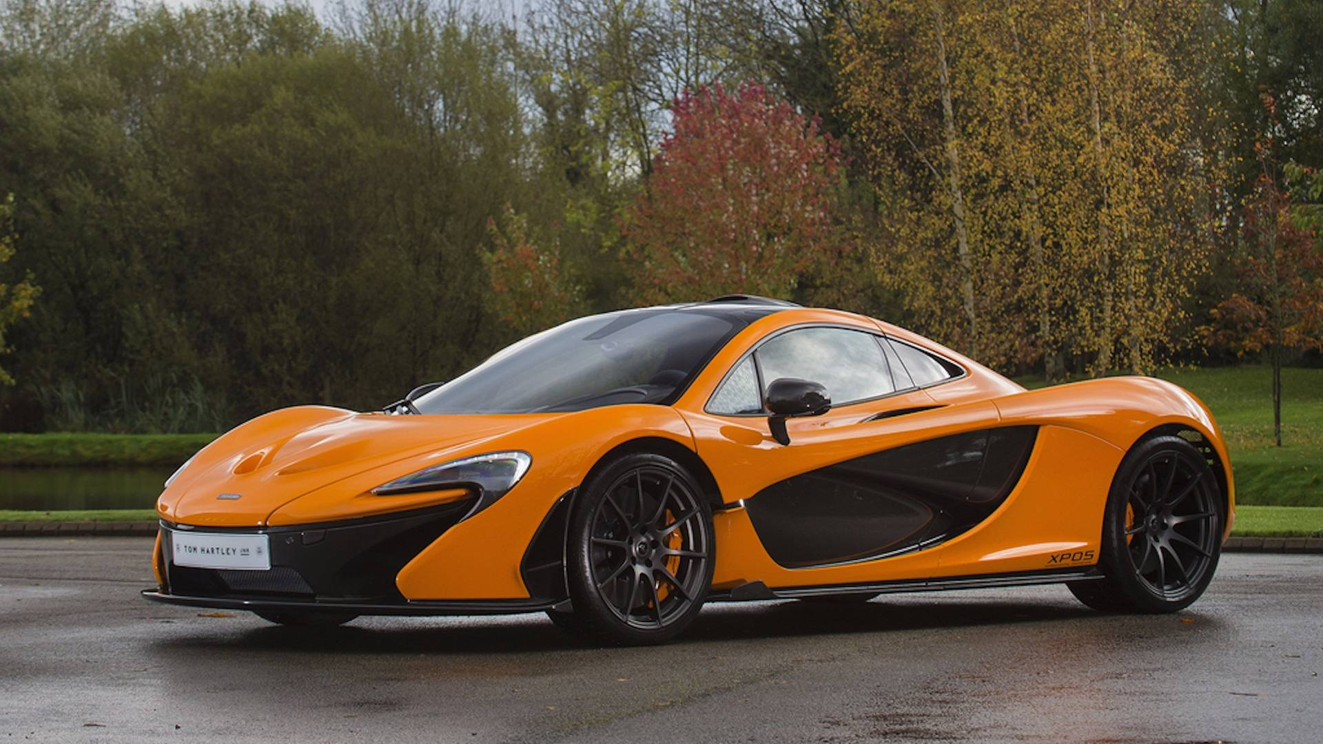 Rare McLaren P1 Experimental Prototype Up For Grabs