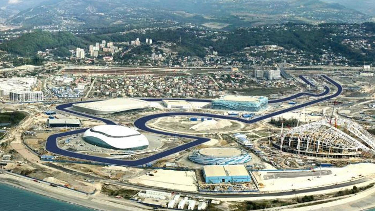 Russian Grand Prix circuit design proposal, Sochi, Russia