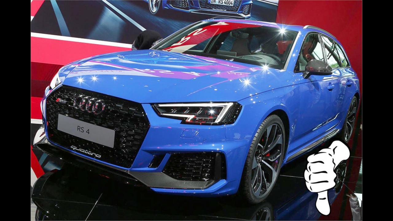 Daniel Hohmeyer – Flop: Audi RS 4 Avant