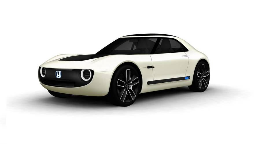 Honda Sports EV konsepti muhteşem retro modern bir otomobil