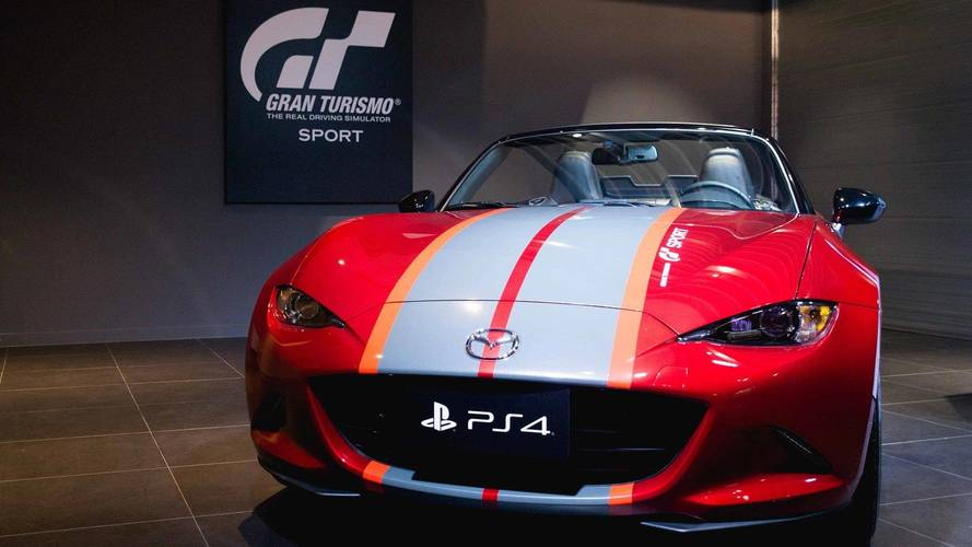 This £35,000 Gran Turismo Sport bundle comes with real MX-5