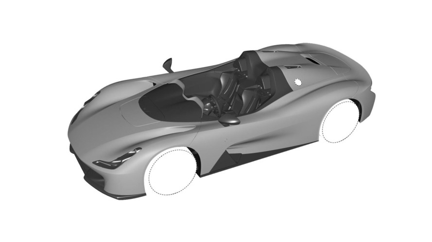 Dallara, Stradale için birkaç gövde tipinin patentini aldı