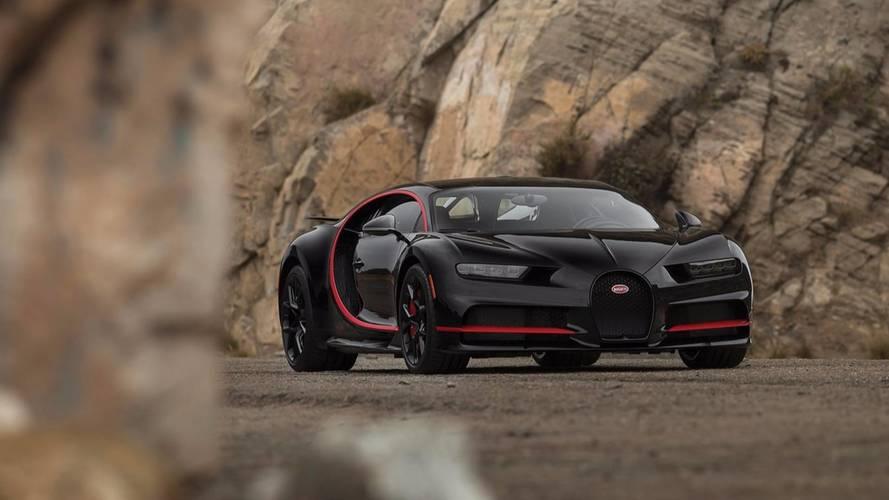 La toute première Bugatti Chiron livrée aux USA est à vendre !