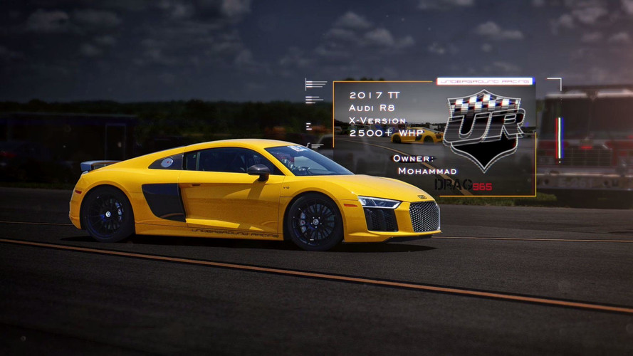 Watch World's Fastest Audi R8 Reach 244 MPH In A Half Mile