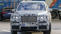 Rolls-Royce Cullinan spy photos inside and out