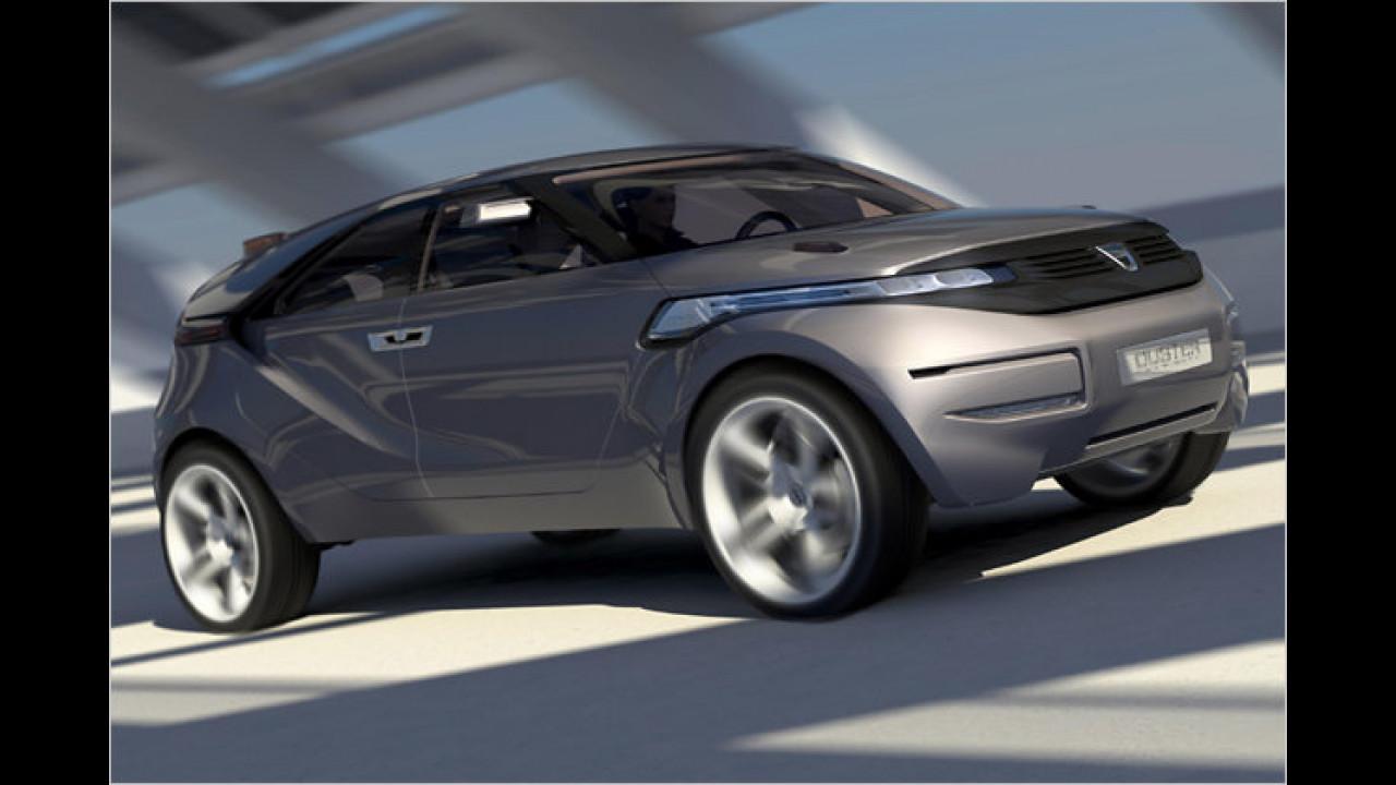Aus dem Dacia Duster Concept ...