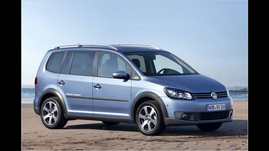 Neuer VW CrossTouran: Auffälliger Familienfreund