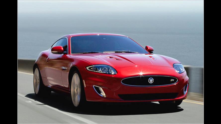 Jaguar XK: Neues Gesicht für Coupé und Cabriolet