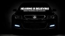 Holden Commodore VFII teaser