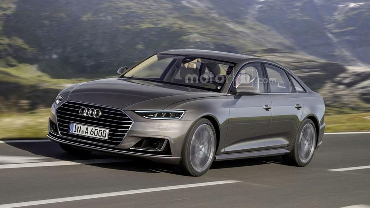 2017 Audi A6 render