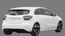 2012 Mercedes A-Class patent photo - 5.11.2011