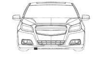 Possible New Chevrolet Malibu Patent Designs Surface