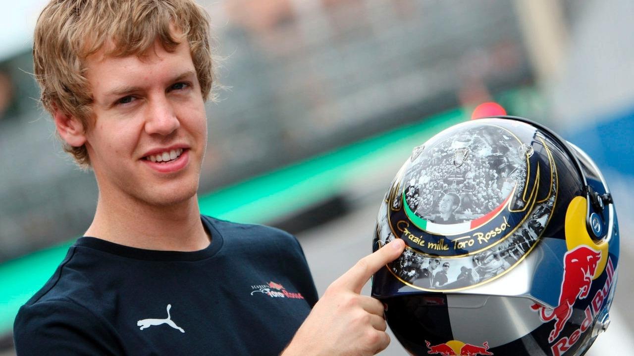 Sebastian Vettel at Brazilian GP 2008