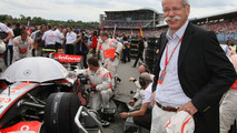 Dr. Dieter Zetsche (GER), Chairman of Daimler, German Grand Prix, Sunday Pre-Race Grid, Hockenheim, Germany, 20.07.2008