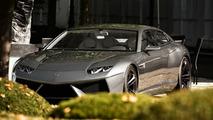 Lamborghini Estoque Concept spotted in Cologne Germany