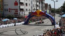 Red Bull Show run in the city street of Heppenheim with Sebastian Vettel, 18.07.2010 Heppenheim, Germany