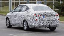 2018 Opel Corsa Sedan spy photo