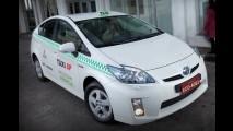 Toyota fornece 20 Prius para frota de táxis híbridos de São Paulo