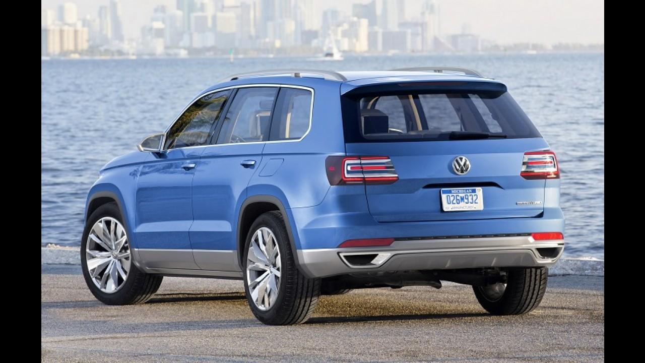 Salão de Detroit: VW confirma produção do SUV CrossBlue para 2016